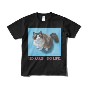 パリスちゃんTシャツ(ブラック・短納期)