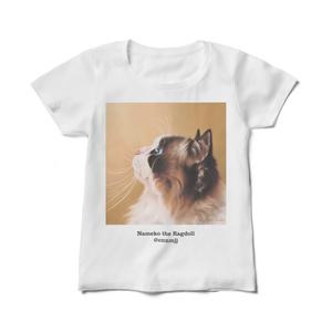 Nameko the Ragdoll レディースTシャツ