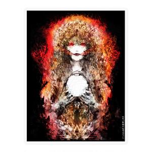 火の守護神 ホムラ様シール
