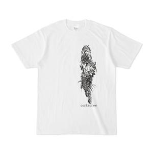 cutfaceコークスクリュー 白Tシャツ