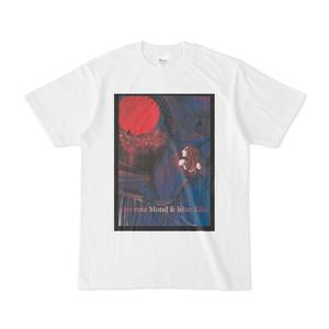 赤い月と魔女エルケ 白Tシャツ