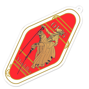 モーテルキー風キーホルダー(マドラー)