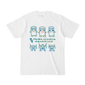 『おいでよ!千葉みなと水族館』Tシャツ(サイロペンギン&ニアゲガニ)