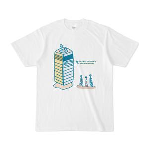 『おいでよ!千葉みなと水族館』Tシャツ(タワーマテガイ&エントツアナゴ)