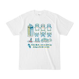 『おいでよ!千葉みなと水族館』Tシャツ(全員集合)