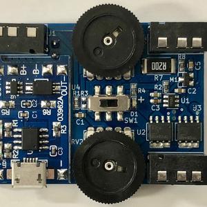 Hapbeat回路ユニット