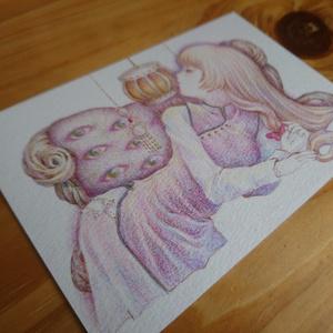 イラスト原画/紫さま