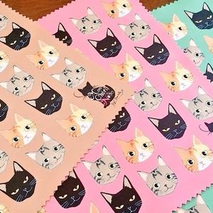 山田家の猫の眼鏡ふき(全五色)