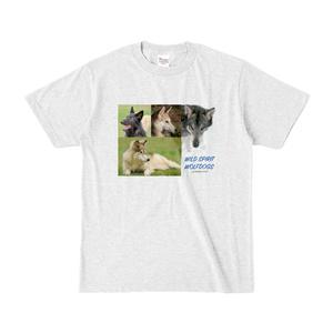 WOLFDOG カラーTシャツ C