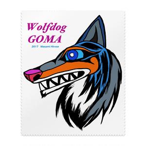 Wolfdog GOMA メガネ拭き 0!
