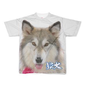 ウルフドッグロックTシャツ(フルグラフィック)