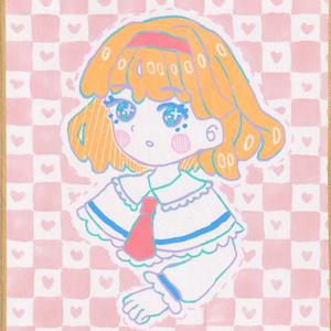アリス・マーガトロイド 色紙