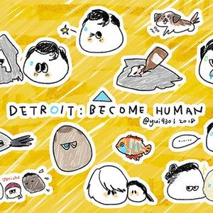 【GOODS】Detroit: Become Humanステッカー