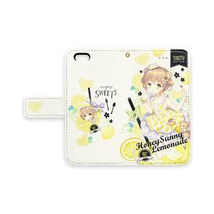 【ハニーサニーレモネード】手帳型iPhoneケース