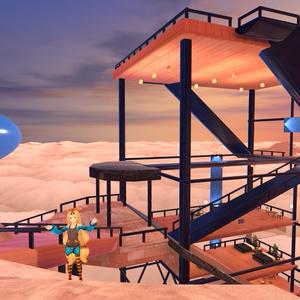 そらの別荘 VRChat向けワールド Sky Villa