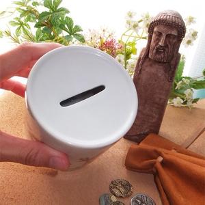 ヘルメス占い貯金箱~卓上に座すヘルメス~