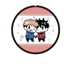 呪術廻戦缶バッジ(q) 虎杖、伏黒