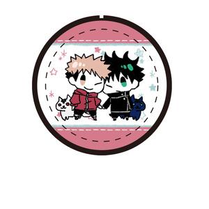 呪術廻戦缶バッジ(n) 虎杖、伏黒