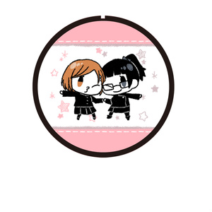 呪術廻戦缶バッジ(k) 野薔薇、真希