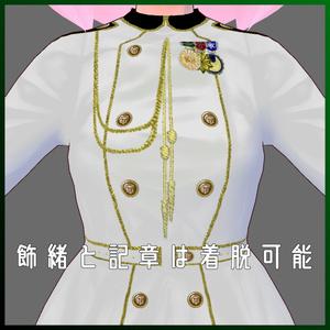 ミリタリーワンピースセット【VRoid用( FBXモデル付)】