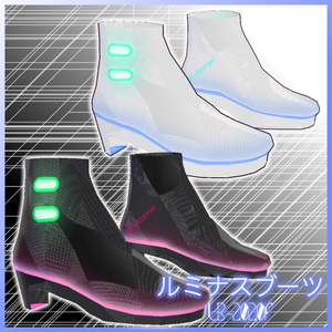 【VRoid用】ルミナスドレス LS-2020F