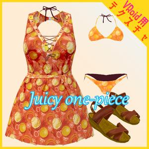 【VRoid用】Juicy one-piece