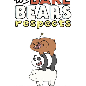 We Bare Bears respects