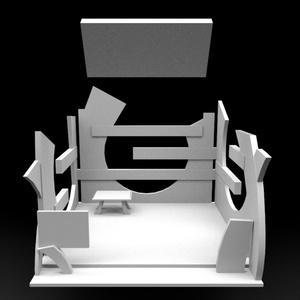 [再配布OK] VRイベント向け展示ブース
