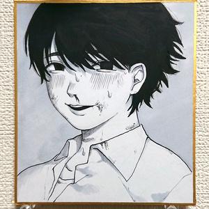 ミニ色紙【原画】