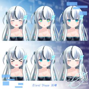 オリジナル3Dモデル「Zero」