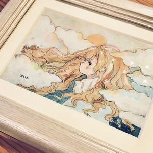 原画「雲のまにまに」