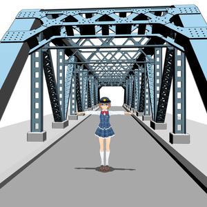 3D江東区鉄橋