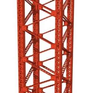 3D鉄骨タワー