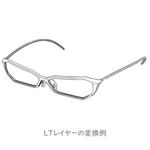 メガネ005