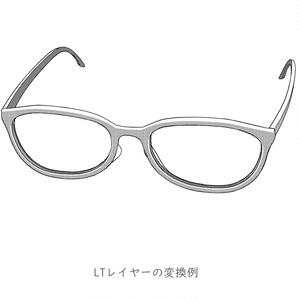 メガネ002