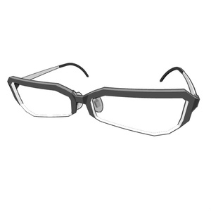 メガネ006