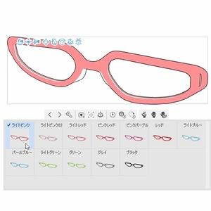 メガネB01