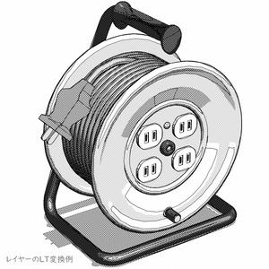 電源コードリール