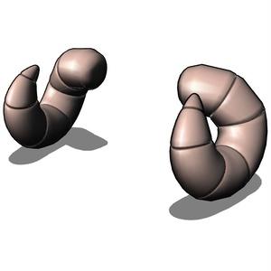 角(ツノ)色々11種類+おまけ付き