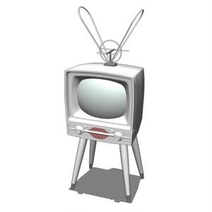 ブラウン管のテレビ