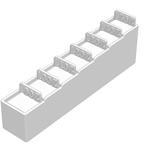 パスタメジャー3種、ケース付き(3Dプリント用STLデータ)