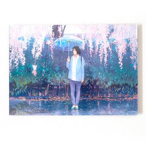 「青い花」アクリルフォト