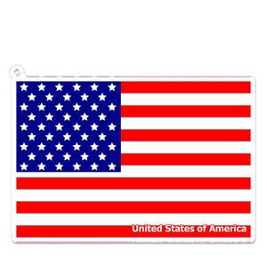 アメリカ アクリルキーホルダー