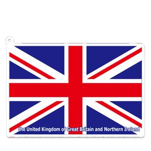 イギリス アクリルキーホルダー