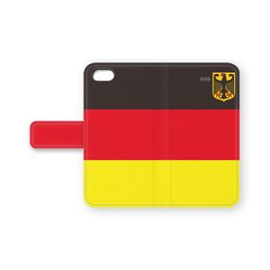 ドイツ 手帳型iPhoneケース