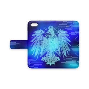 プロイセン iPhoneケース 青