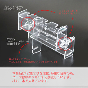 「きらめきペンスタンド」ひな壇化キット