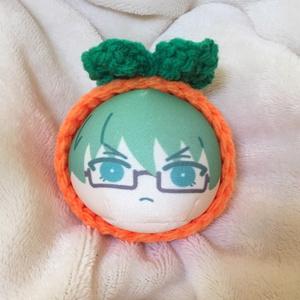 おまんじゅう着ぐるみ 柿