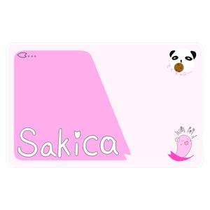 Sakica!ICカードステッカー!!!!