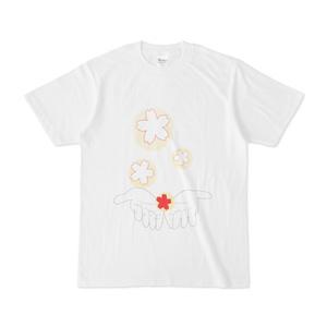 桜舞うTシャツ